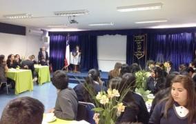 Premian a mejores alumnos del liceo Estela Ávila en el marco de un nuevo aniversario