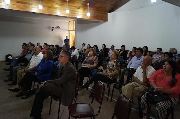 La ceremonia se realizó en el salón auditorio del municipio punitaquino (Foto: Cedida).