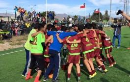 Histórica clasificación de equipo de Asociación Diaguitas para Nacional Infantil Amateur