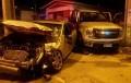 Más de 20 lesionados es el saldo de dos accidentes de tránsito ocurridos anoche