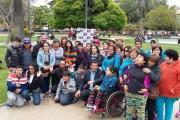 Jóvenes con capacidades distintas de Melipilla visitan la región en gira de estudios