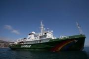 Hasta mañana barco emblema de Greenpeace podrá ser visitado en Coquimbo