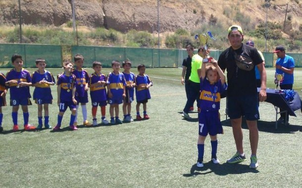 Cuatro ganadores tuvo este año Campeonato de Fútbol Infantil Promesas 2015