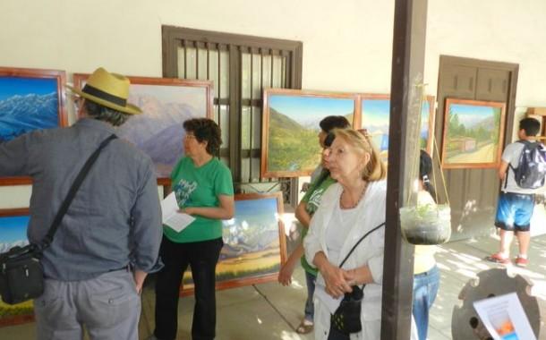 """Primera residencia de exposición """"Gran hombre del cobre, una ruta ancestral""""."""