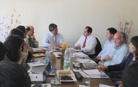 Más de tres horas duró productiva reunión entre Intendente y alcalde de Combarbalá