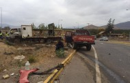 Accidente en sector el Reloj deja 6 lesionados