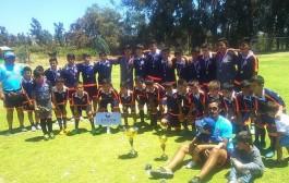 """Chunchitos"" ovallinos volaron a campeonato internacional de Puerto Montt"