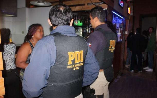 PDI realiza fiscalización en locales nocturnos de Ovalle y detiene a una extranjera
