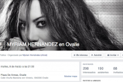 Myriam Hernández anuncia concierto en Ovalle
