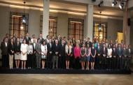 Gobernadores de la región se reúnen en la capital con la Presidenta y Ministro del Interior