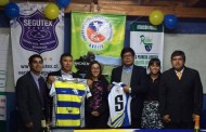 Equipo ovallino Goliath Rugby Club Profesores lanzó su nueva camiseta