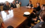 Delegación de Polonia presentó saludo protocolar a autoridades del GORE