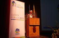 Alcalde Rentería rindió la Cuenta Pública año 2015 del municipio