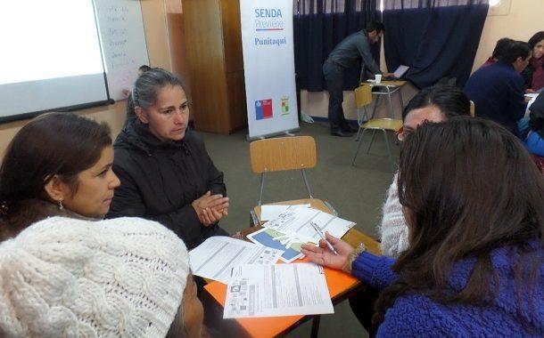Realizan diálogo participativo en sector Las Ramadasde Punitaqui