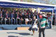 Reconocimiento y admiración en el homenaje de Punitaqui a las Glorias Navales