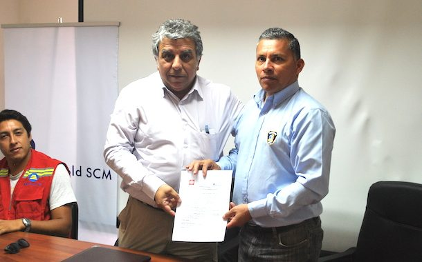 Bomberos de Punitaqui recibirán aportes mensuales de trabajadores de empresa minera