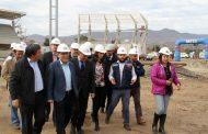 Estadio de Ovalle supera el 50% de avance en su construcción