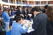 Más de un millar de alumnos asistieron a Undécima Feria Vocacional del Colegio Amalia Errazuriz