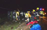Identifican a las cuatro víctimas de accidente carretero