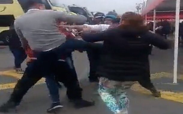 Disputa por pasajeros terminó a golpes entre trabajadores de líneas de buses La Serena - Ovalle