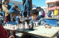 Torneo de Ajedrez se tomó la plaza de armas de Ovalle