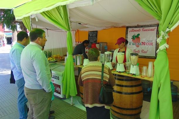 Delicias del Valle del Limarí aterrizaron en Antofagasta