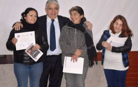 Más de 100 familias ovallinas han sido favorecidas con Talleres de Autoconsumo