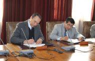 Regantes ovallinos firman convenio de cooperación con la U. de La Serena