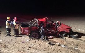 Fallece ovallino conductor de camioneta que colisionó en Antofagasta