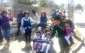 Fuga de gas obliga a evacuar niños de Jardín Infantil