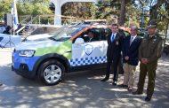 Encargados de vehículo de Seguridad Municipal ayudan a salvar la vida a bebé