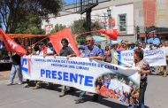 Movilización de funcionarios públicos reúne a más de mil personas en Ovalle