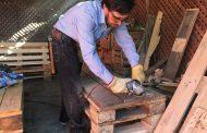 Una alternativa para la terraza y el jardín: muebles de pallets de madera