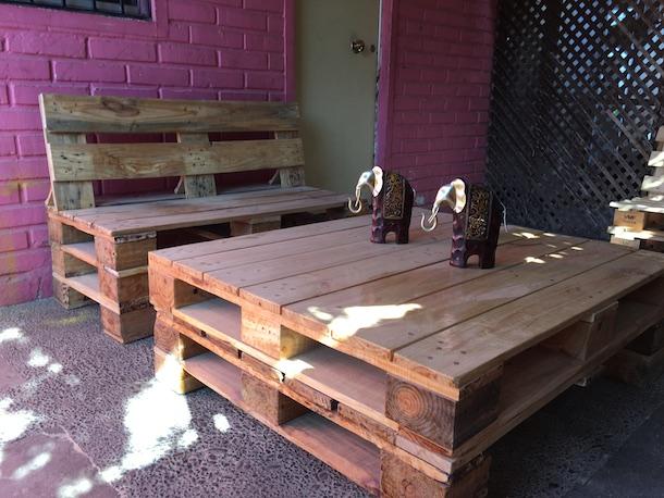Una alternativa para la terraza y el jard n muebles de for Muebles para terraza en madera