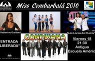 Con espectáculo de primer nivel Combarbalá elegirá a su reina 2016