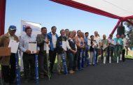 Entregan cerca de 2 mil millones en bonos de riego para agricultores de la región de Coquimbo