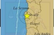 Ruidoso sismo se registra en la tarde de hoy en el Limarí