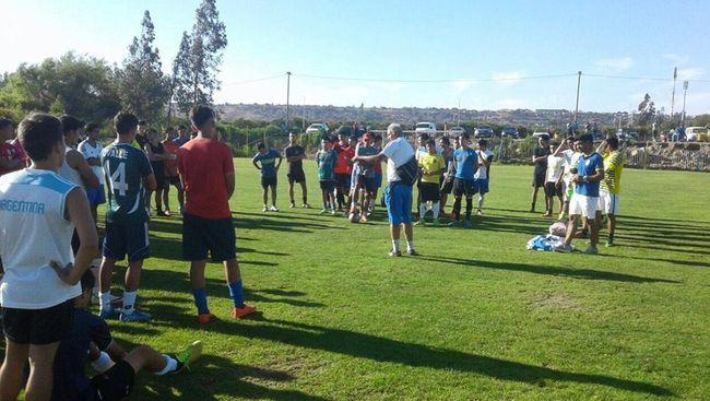 Con éxito concluye prueba de jugadores del Club Social y Deportivo de Ovalle