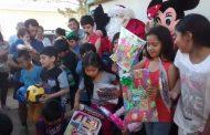 Una linda fiesta de Navidad disfrutaron los niños de Pejerreyes