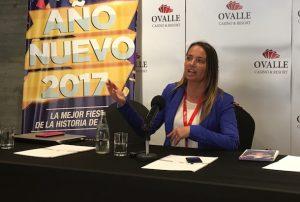 Paula Gacitúa, gerente comercial de Ovalle Casino & Resort (Foto: OvalleHOY.cl)