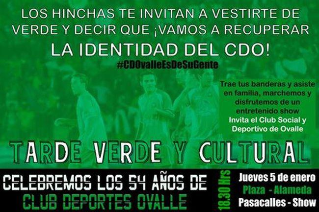 Con show artístico celebrarán los 54 años de Club Deportes Ovalle