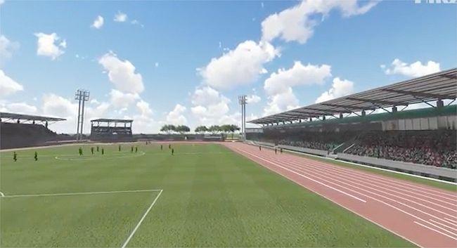 Cancha del Estadio de Ovalle: un sueño que avanza a trancos largos