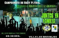 Por quinta vez se desarrolla el Campeonato de Baby Fútbol