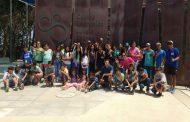 50 estudiantes de Punitaqui disfrutan de vacaciones en la playa gracias a Campamentos Recreativos