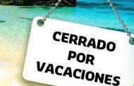 Ovalle, cerrado por vacaciones
