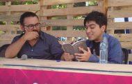 """El """"escritor millenial"""" que vino a mostrar su obra a la Feria del Libro de Ovalle"""