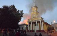 Incendio afectó a iglesia patrimonial del Limarí