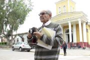 """""""Este hombre es Aliro Caupolicán Flores ¡Quien lo creyera!"""