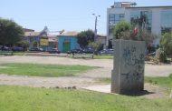 Memorial de la Alameda necesita urgente una limpieza de rayados