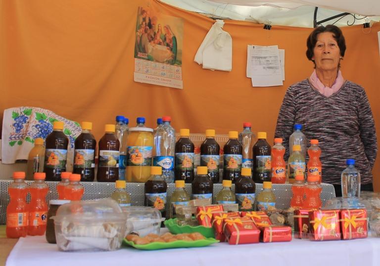La novedosa oferta de productos que presentan mujeres emprendedoras en la plaza de Ovalle